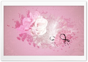 Pink Vintage Background HD Wide Wallpaper for Widescreen