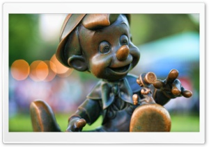 Pinocchio HD Wide Wallpaper for Widescreen