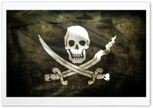 Pirate Flag HD Wide Wallpaper for Widescreen
