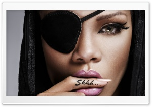 Pirate Rihanna HD Wide Wallpaper for Widescreen