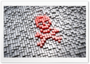 Pirate Symbol HD Wide Wallpaper for 4K UHD Widescreen desktop & smartphone