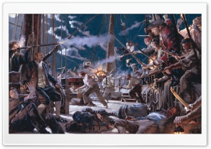 Pirates Attack HD Wide Wallpaper for Widescreen