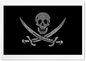 Pirates Flag HD Wide Wallpaper for Widescreen