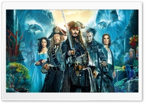 Pirates of the Caribbean 5 Dead Men Tell No Tales Ultra HD Wallpaper for 4K UHD Widescreen desktop, tablet & smartphone