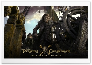 Pirates of the Caribbean Dead Men Tell No Tales HD Wide Wallpaper for 4K UHD Widescreen desktop & smartphone