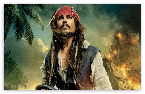 Pirates Of The Caribbean On Stranger Tides 2011 - Johnny Depp As Captain Jack Sparrow UltraHD Wallpaper for Wide 16:10 5:3 Widescreen WHXGA WQXGA WUXGA WXGA WGA ; 8K UHD TV 16:9 Ultra High Definition 2160p 1440p 1080p 900p 720p ; Standard 4:3 5:4 3:2 Fullscreen UXGA XGA SVGA QSXGA SXGA DVGA HVGA HQVGA ( Apple PowerBook G4 iPhone 4 3G 3GS iPod Touch ) ; Tablet 1:1 ; iPad 1/2/Mini ; Mobile 4:3 5:3 3:2 16:9 5:4 - UXGA XGA SVGA WGA DVGA HVGA HQVGA ( Apple PowerBook G4 iPhone 4 3G 3GS iPod Touch ) 2160p 1440p 1080p 900p 720p QSXGA SXGA ;