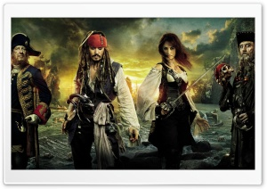 Pirates Of The Caribbean On Stranger Tides 2011 Movie HD Wide Wallpaper for Widescreen