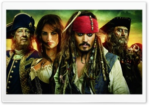 Pirates Of The Caribbean On Stranger Tides Ultra HD Wallpaper for 4K UHD Widescreen desktop, tablet & smartphone