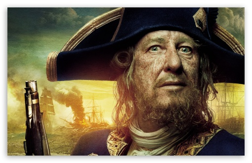 Pirates Of The Caribbean On Stranger Tides - Barbossa HD wallpaper for Wide 16:10 5:3 Widescreen WHXGA WQXGA WUXGA WXGA WGA ; HD 16:9 High Definition WQHD QWXGA 1080p 900p 720p QHD nHD ; Standard 4:3 5:4 3:2 Fullscreen UXGA XGA SVGA QSXGA SXGA DVGA HVGA HQVGA devices ( Apple PowerBook G4 iPhone 4 3G 3GS iPod Touch ) ; Tablet 1:1 ; iPad 1/2/Mini ; Mobile 4:3 5:3 3:2 16:9 5:4 - UXGA XGA SVGA WGA DVGA HVGA HQVGA devices ( Apple PowerBook G4 iPhone 4 3G 3GS iPod Touch ) WQHD QWXGA 1080p 900p 720p QHD nHD QSXGA SXGA ; Dual 4:3 5:4 UXGA XGA SVGA QSXGA SXGA ;