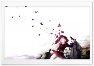 Pistol Petals HD Wide Wallpaper for Widescreen
