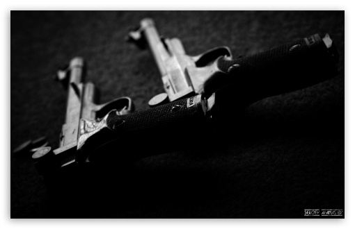 Pistols HD wallpaper for Wide 16:10 Widescreen WHXGA WQXGA WUXGA WXGA ; Standard 4:3 5:4 3:2 Fullscreen UXGA XGA SVGA QSXGA SXGA DVGA HVGA HQVGA devices ( Apple PowerBook G4 iPhone 4 3G 3GS iPod Touch ) ; iPad 1/2/Mini ; Mobile 4:3 3:2 5:4 - UXGA XGA SVGA DVGA HVGA HQVGA devices ( Apple PowerBook G4 iPhone 4 3G 3GS iPod Touch ) QSXGA SXGA ;