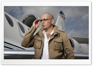 Pitbull Mr Worldwide HD Wide Wallpaper for Widescreen