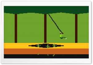Pitfall! HD Wide Wallpaper for Widescreen