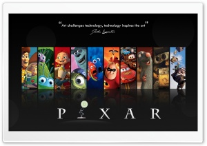 Pixar HD Wide Wallpaper for Widescreen