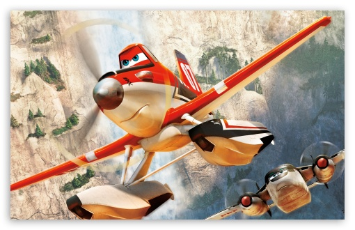 Download Planes Fire and Rescue 2014 UltraHD Wallpaper