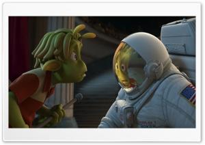 Planet 51 HD Wide Wallpaper for Widescreen