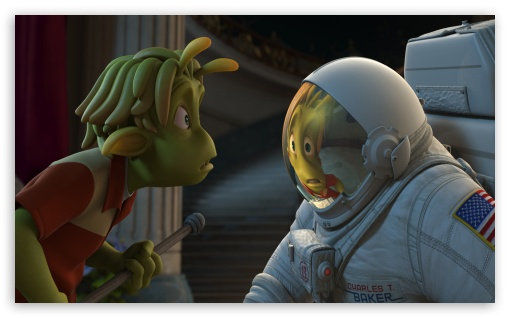 Planet 51 HD wallpaper for Wide 5:3 Widescreen WGA ; HD 16:9 High Definition WQHD QWXGA 1080p 900p 720p QHD nHD ; Mobile 5:3 16:9 - WGA WQHD QWXGA 1080p 900p 720p QHD nHD ;
