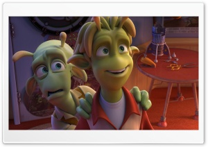 Planet 51 Movie II HD Wide Wallpaper for Widescreen