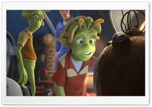 Planet 51 HD Wide Wallpaper for Widescreen
