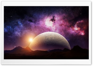 Planet Alpha Ultra HD Wallpaper for 4K UHD Widescreen desktop, tablet & smartphone