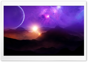 Planet Sigma Ultra HD Wallpaper for 4K UHD Widescreen desktop, tablet & smartphone