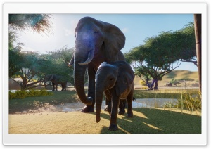 Planet Zoo Video Game Ultra HD Wallpaper for 4K UHD Widescreen desktop, tablet & smartphone