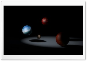 Planetarium HD Wide Wallpaper for Widescreen