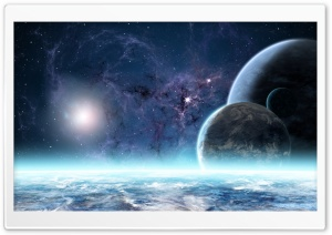 Planetary System HD Wide Wallpaper for Widescreen