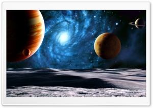 Planets HD Wide Wallpaper for Widescreen
