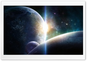 Planets Fantasy HD Wide Wallpaper for Widescreen