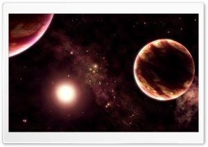 Planets Universe 18 Ultra HD Wallpaper for 4K UHD Widescreen desktop, tablet & smartphone