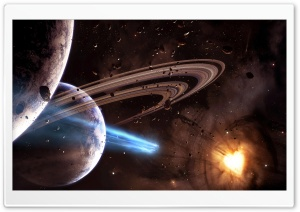 Planets Universe 4 HD Wide Wallpaper for Widescreen