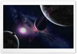 Planets Universe 7 HD Wide Wallpaper for 4K UHD Widescreen desktop & smartphone