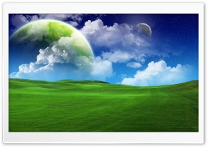 Planetscape HD Wide Wallpaper for Widescreen