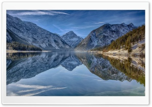 Plansee Lake, Tirol, Austria HD Wide Wallpaper for Widescreen