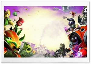 Plants vs. Zombies Garden Warfare 2 HD Wide Wallpaper for Widescreen