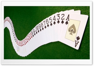 Playing Cards HD Wide Wallpaper for Widescreen