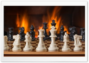 Playing Chess HD Wide Wallpaper for Widescreen