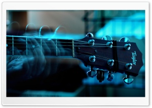 Playing Guitar HD Wide Wallpaper for Widescreen