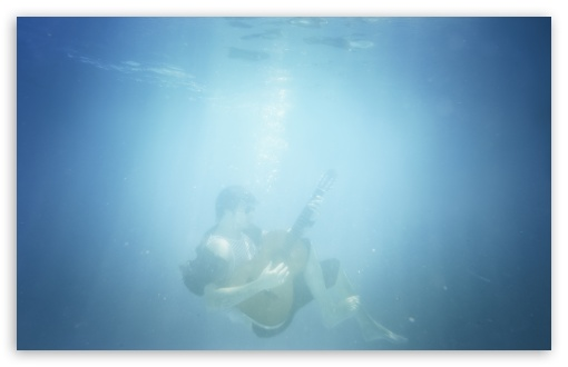 Playing Guitar Underwater HD wallpaper for Wide 16:10 5:3 Widescreen WHXGA WQXGA WUXGA WXGA WGA ; HD 16:9 High Definition WQHD QWXGA 1080p 900p 720p QHD nHD ; Standard 4:3 5:4 3:2 Fullscreen UXGA XGA SVGA QSXGA SXGA DVGA HVGA HQVGA devices ( Apple PowerBook G4 iPhone 4 3G 3GS iPod Touch ) ; Tablet 1:1 ; iPad 1/2/Mini ; Mobile 4:3 5:3 3:2 16:9 5:4 - UXGA XGA SVGA WGA DVGA HVGA HQVGA devices ( Apple PowerBook G4 iPhone 4 3G 3GS iPod Touch ) WQHD QWXGA 1080p 900p 720p QHD nHD QSXGA SXGA ; Dual 4:3 5:4 UXGA XGA SVGA QSXGA SXGA ;