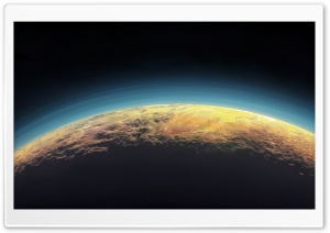 Pluto Horizon HD Wide Wallpaper for Widescreen