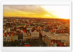 Plzen, Czech Republic HD Wide Wallpaper for Widescreen