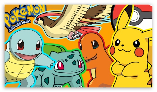 Pokemon Gang ❤ 4K UHD Wallpaper for 4K UHD 16:9 Ultra High Definition 2160p 1440p 1080p 900p 720p ; Mobile 5:3 3:2 16:9 - WGA DVGA HVGA HQVGA ( Apple PowerBook G4 iPhone 4 3G 3GS iPod Touch ) 2160p 1440p 1080p 900p 720p ;