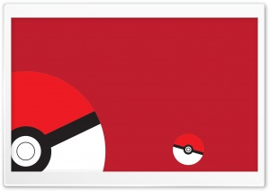 Pokemon Pokeball Red HD Wide Wallpaper for Widescreen