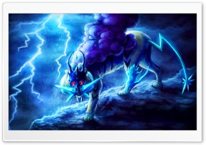 Pokemon Suicune HD Wide Wallpaper for Widescreen
