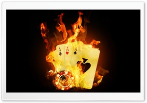 "Poker - ""Winning"" HD Wide Wallpaper for Widescreen"