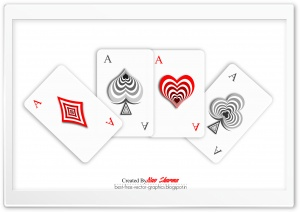 Poker Cards HD Wide Wallpaper for 4K UHD Widescreen desktop & smartphone