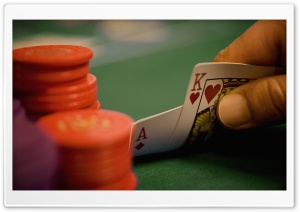 Poker Game HD Wide Wallpaper for Widescreen