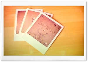 Polaroid Photos HD Wide Wallpaper for Widescreen