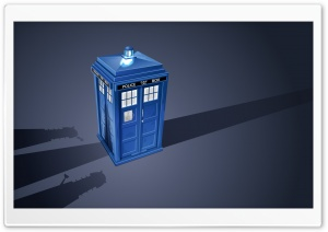 Police Box HD Wide Wallpaper for Widescreen